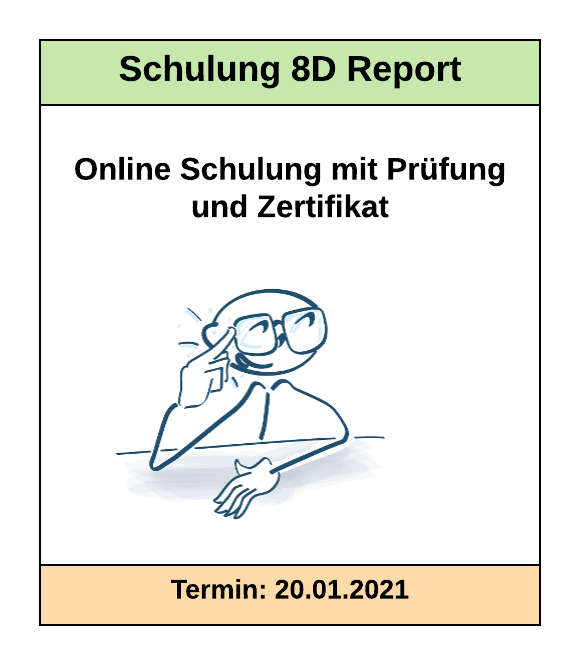Schulung 8D Report | SMCT-MANAGEMENT